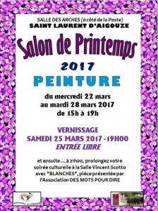Affiche Salon de Printemps 2017 (1)