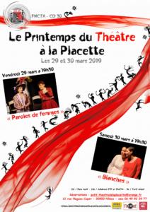 Le printemps du theatre a la placette 03-2019